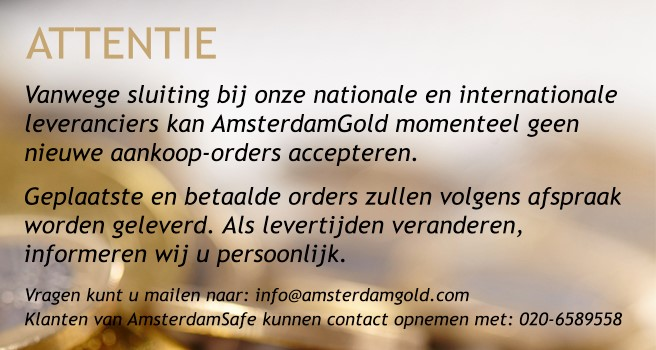 Attentie AmsterdamGold