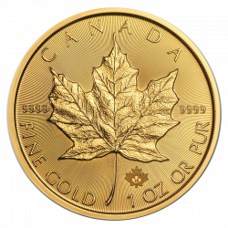 2019 1 Oz gold Maple Leaf Canada  Front