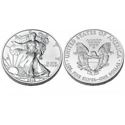 American Silver Eagle coins - 1 troy ounce