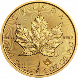 10 new Golden Maple Leaf coins - 1 troy ounce