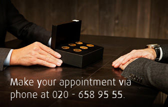Make your appointment via phone at 020 - 658 95 55.